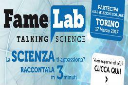 La scienza in tre minuti - Famelab 2017