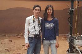Linda e Francesco sul pianeta Marte