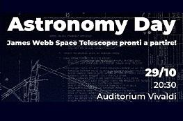 """Astronomy Day 2021 - """"James Webb Space Telescope: pronti a partire!"""""""